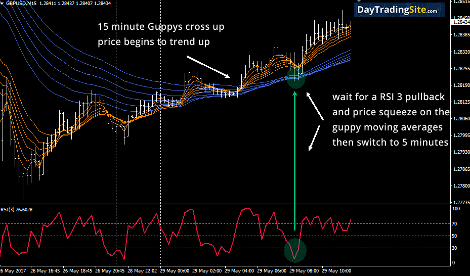 guppy moving averages 15